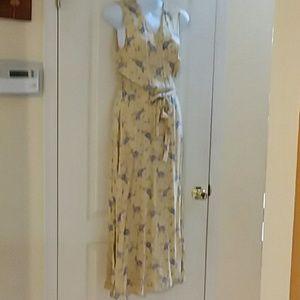 Vintage GAP sleeveless wrap dress